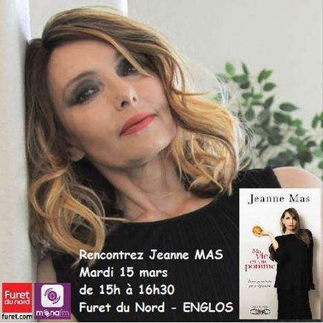 Mardi 15 mars 2016 : JEANNE est en dédicace à Englos (près de Lille) !