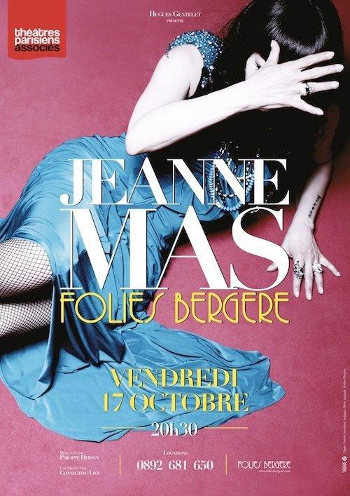 il y a 2 ans jour pour jour... - JEANNE était en concert aux Folies Bergère