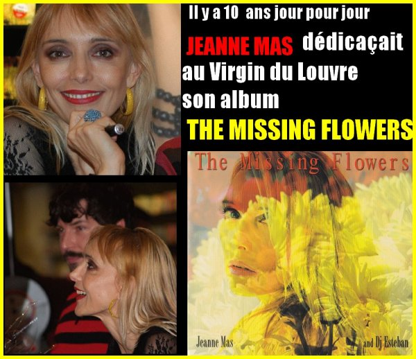 "25/11/2006 - 25/11/2016 - JEANNE retrouvait ses fans avec l'album ""THE MISSING FLOWERS"""