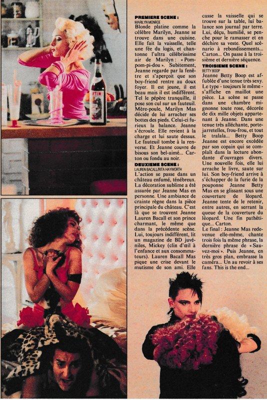 """- Le titre """"SAUVEZ-MOI"""" fête ses 30 ans ! Février 1987 - Février 2017 - Semaine spéciale sur le blog avec :  - Interviews d'époque, passages TV - Les coulisses du clip, Photos...etc... (suite 2)"""