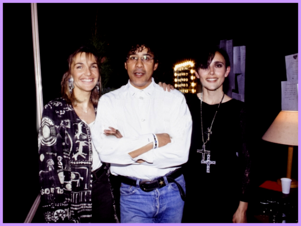23 Mars 1993 - Casino de Paris -  Concert de Laurent Voulzy,  entouré de Jeanne  et Véronique Jannot