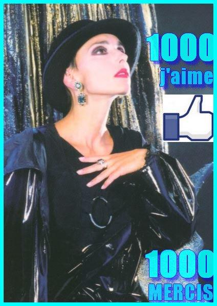 La page Facebook JEANNEMASENVRAI  vient de passer le cap des 1000 likes !