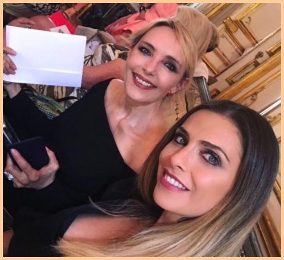 Fashion Week du 20 juin 2017 - Jeanne, Line Renaud & Clara Morgane réunies pour un défilé de mode à Paris