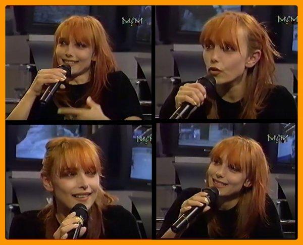 01 octobre 2007 - 01 octobre 2017 Le blog JEANNEMASENVRAI fête son 10ème anniversaire- La vidéo-live inédite du jour... Jeanne MAS - Interview MCM (mai 1997)