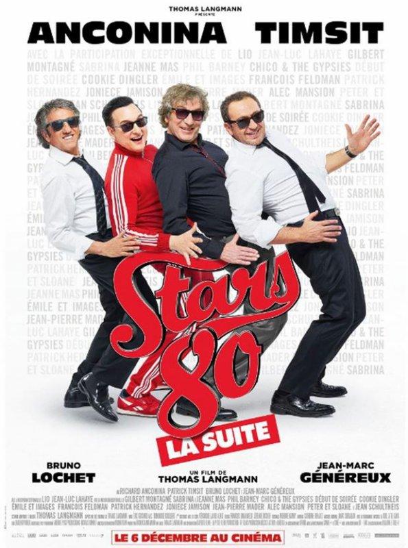 """NEWS ciné - SORTIE OFFICIELLE du film """"STARS 80, la suite"""" Mercredi 6 décembre 2017 Ecoutez l'extrait dans lequel Jeanne  chante dans le film !"""