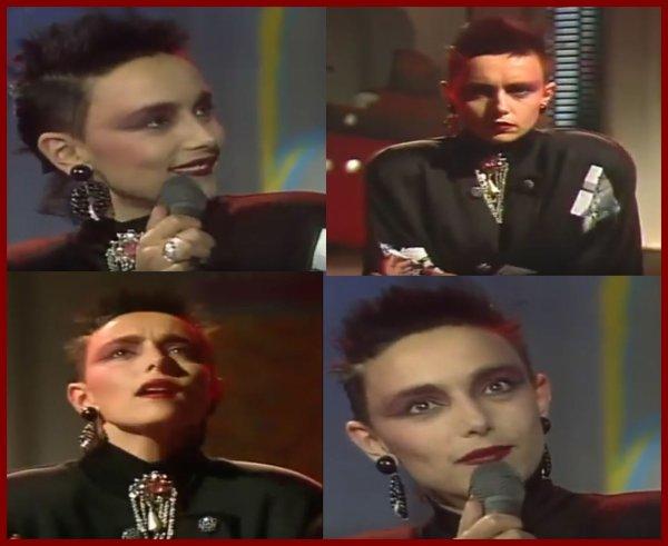 Le passage TV (belge) de la semaine  - JEANNE MAS - EN ROUGE ET NOIR (1986)