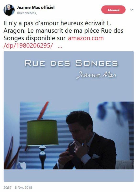 """News livre - Sortie du manuscrit """"Rue des songes"""""""