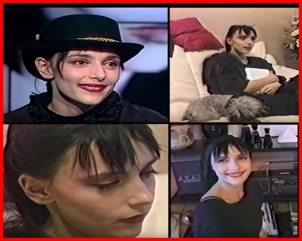 """Le passage TV de la semaine - JEANNE MAS - Invitée du journal TV de la 5 Promo album """"L'art des Femmes"""" Interview + reportage chez Jeanne"""
