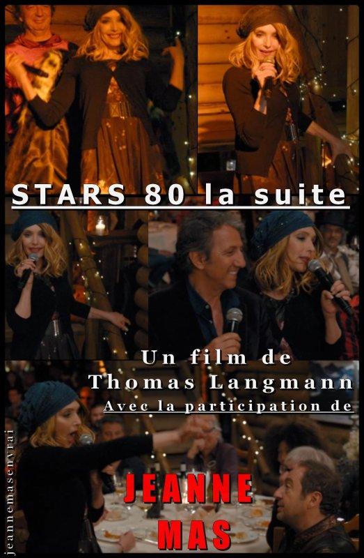 """News cinéma - Sortie du DVD/Blu-Ray de """"STARS 80 la suite"""" (2017) - Découvrez l'unique scène de Jeanne dans le film"""