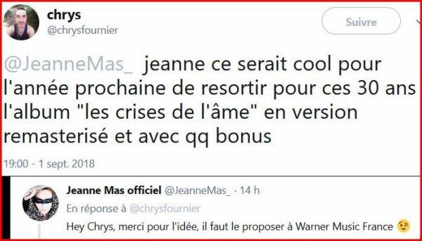 """Dans qqs mois...  L'album """"LES CRISES DE L'ÂME"""" aura 30 ans !"""