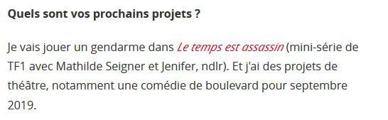 News - Jeanne au théatre en 2019