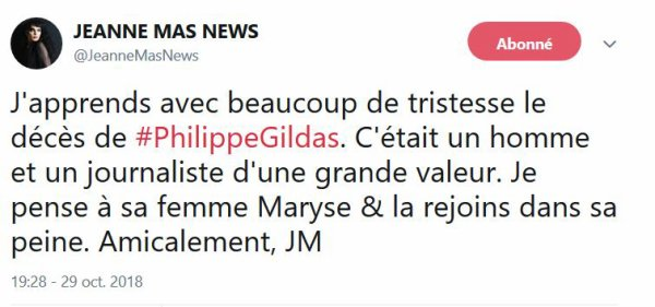 Hommage à Philippe Gildas