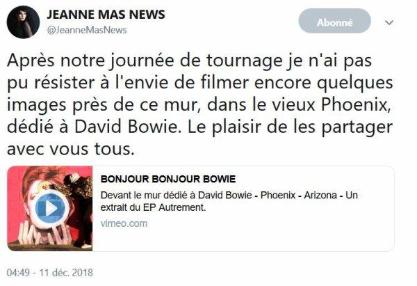 """News Twitter Découvrez le clip """"LE COEUR VOLCAN"""""""