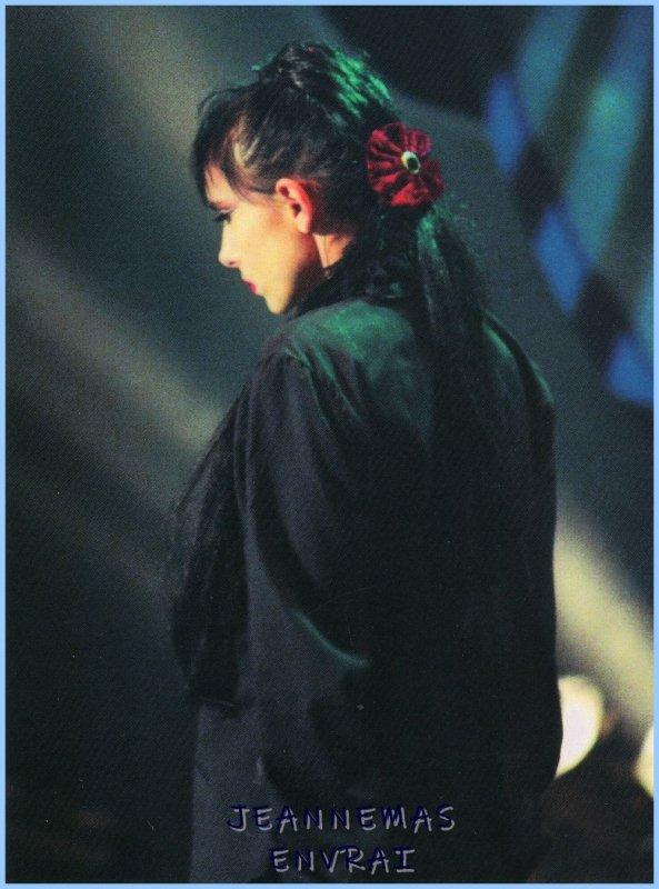 """INEDIT ! - Le passage TV de la semaine - Jeanne MAS interprète """" LES REVES DE MAUD""""  extrait de l'album """"L'art des femmes"""" (1990)"""