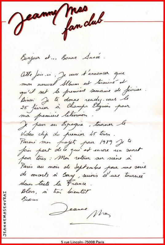 """1989 - 2019 - L'album """"LES CRISES DE L'AME"""" a 30 ans !- Episode 1 Les premières annonces de Jeanne..."""
