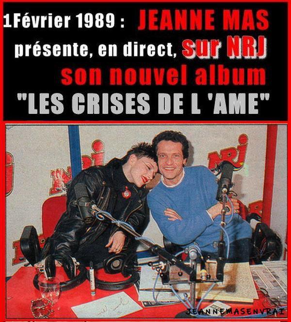 """1989 - 2019 - L'album """"LES CRISES DE L'AME"""" a 30 ans !- Episode 3 Première promo... à la radio"""
