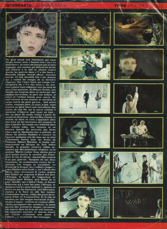 """1989 - 2019 - L'album """"LES CRISES DE L'AME"""" a 30 ans !- Episode 6 Le clip """" Y' a des bons...""""Inclus :  un passage TV inédit sur le net"""