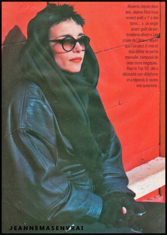 """1989 - 2019 - L'album """"LES CRISES DE L'AME"""" a 30 ans !- Episode 7 La promo... dans  la presse"""