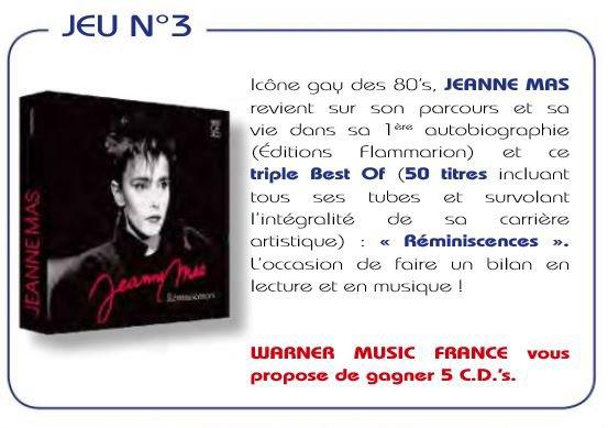 """News musique - Le BEST OF 3 CD """"REMINISCENCES"""" Sortie : ce VENDREDI  10  MAI"""