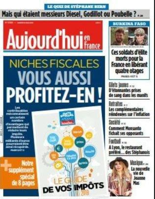 News presse - Jeanne en interview dans Le Parisien