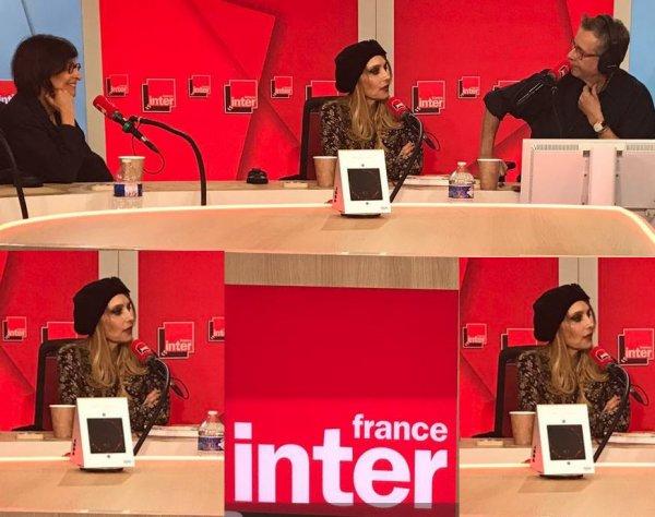 """News radio - Jeanne est l'invitée de laurent Goumarre dans """"Le nouveau rendez-vous"""" (France Inter, le 16/5/19)"""