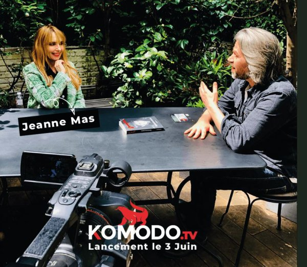 News TV web - Jeanne invitée d'Aymeric Caron sur Komodo TV (le 03 juin)