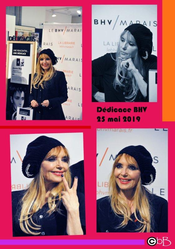 """Samedi 25 mai 2019 - Dédicace de """"Réminiscences"""" et """" Goodbye je reviendrai"""" au BHV Marais (Paris) (suite 1)"""