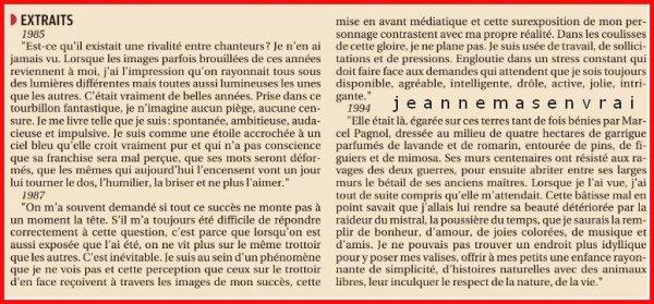 """News presse - Jeanne à la Une du  quotidien  """"La Provence"""""""