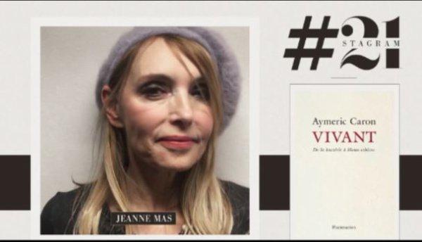 """News TV - Jeanne intervient dans """"21 cm"""" (Canal +, 29/5/19) pour présenter""""Vivant"""" d'Aymeric Caron"""