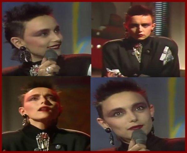 """Le passage TV inédit  - Jeanne interprète """"S'envoler jusqu'au bout"""" à la télé belge en 1986"""