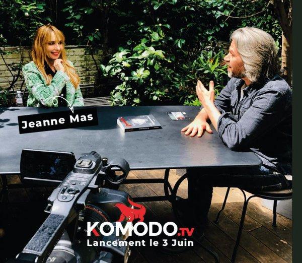 Le passage TV de la semaine - Jeanne est l'invitée d'Aymeric Caron sur KOMODO TV