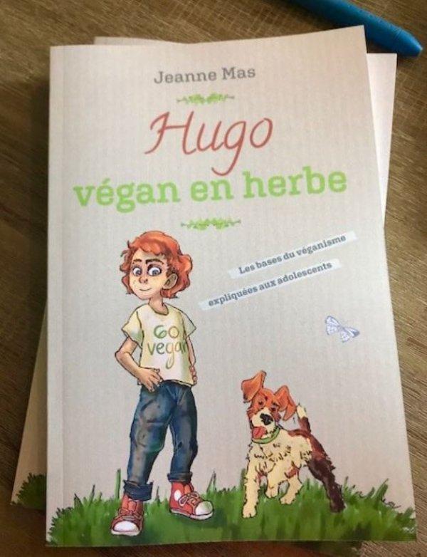 News LIVRE - Jeanne publie une bande dessinée sur le véganisme
