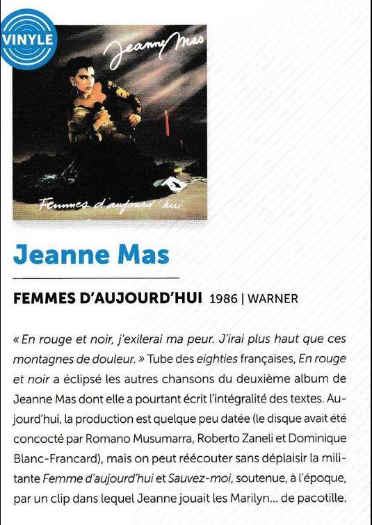 """Clin d'oeil - """"L'album """"Femmes d'aujourd'hui"""" cité dans le livre de la Fnac """"La discothèque idéale"""""""