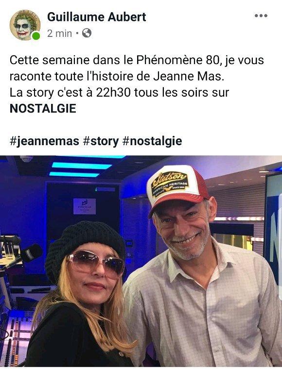 News radio  -  La story de Jeanne tous les soirs  de cette semaine sur NOSTALGIE à 22h30.