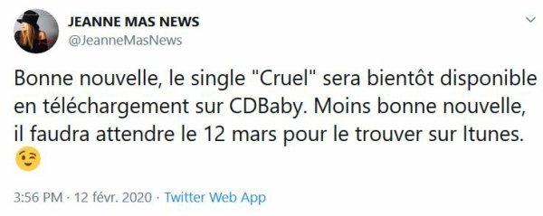 """News Twitter officiel  Tout sur """"LOVE"""", le nouvel album Sortie le 13 mars 2020"""