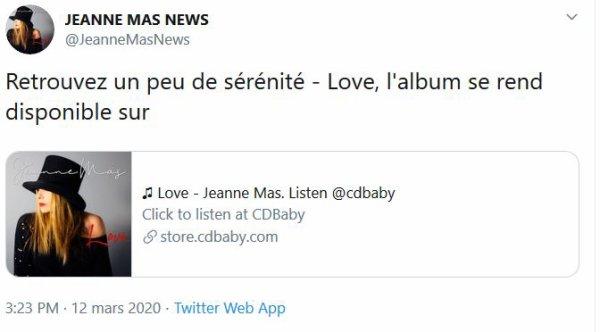 """""""LOVE"""", le nouvel album Sortie le 13 mars 2020"""