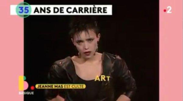 """News TV - Reportage """"Jeanne MAS est culte"""" dans l'émission """"BASIQUE"""" (France 2 - 04/05/20)"""