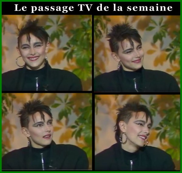 """Le passage TV inédit de la semaine - JEANNE MAS  interviewée par Philippe Bouvard dans """"le nouveau théatre de Bouvard"""" (12/11/86)"""