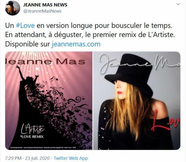"""News musique - Découvrez le remix du titre """"L'artiste"""""""