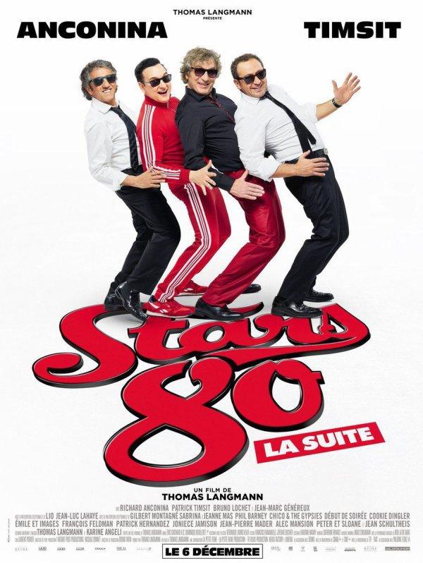 """News TV - Diffusion ce jeudi 06 aout du film  """"STARS 80 la suite"""" à 21h05 sur TF1"""