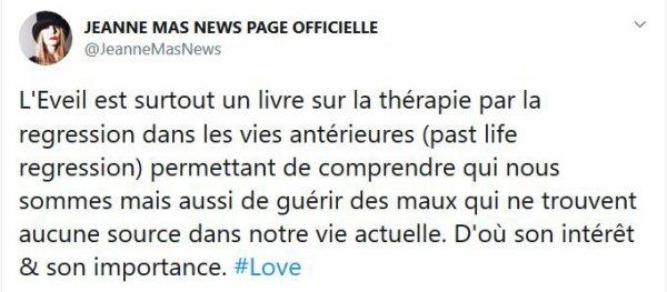 """News livre - Le nouveau livre de Jeanne MAS """"L'éveil"""" SORTIE LE 15 OCTOBRE"""
