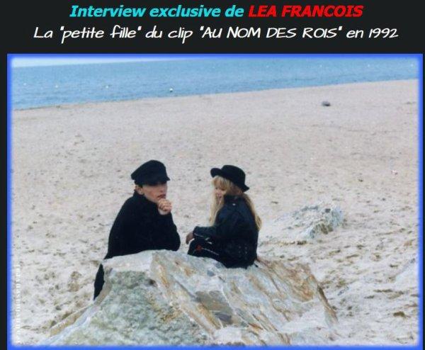 """Clin d'oeil - La petite fille du clip d' """"Au nom des rois"""" se souvient..."""