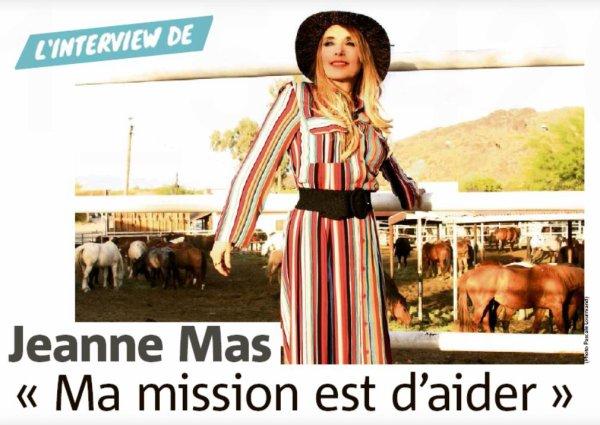 [News presse]- Interview de Jeanne MAS  dans Nice-Matin (31/10/20)