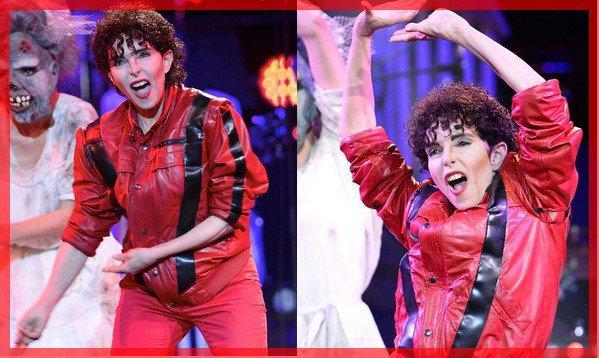 """News TV - Rediffusion le 31/12/20 sur C8 de """"ZE FIESTA"""" présentée par Patrick Sébastien  avec Jeanne déguisée en Michael Jackson"""