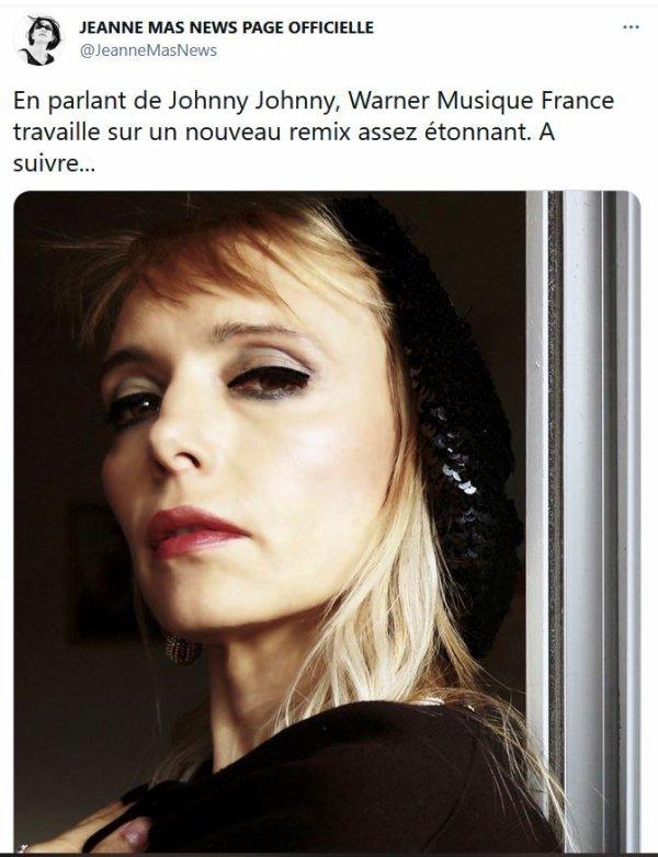 """News twitter - Nouveau remix de """"JOHNNY,JOHNNY"""" bientôt"""
