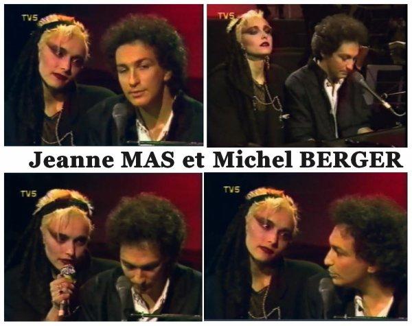 """02 aout 1992 - 02 aout 2021 - Pensée pour Michel Berger Son duo avec Jeanne au """"Grand échiquier"""""""