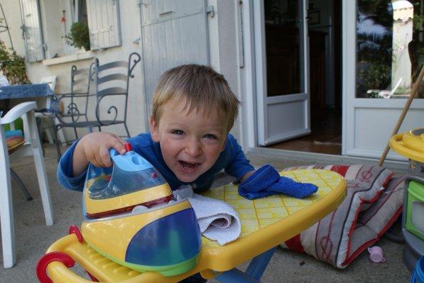 Maël (le clown) a 2 ans et 4 mois