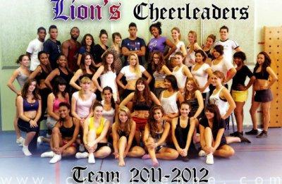 Lion's Cheerleaders