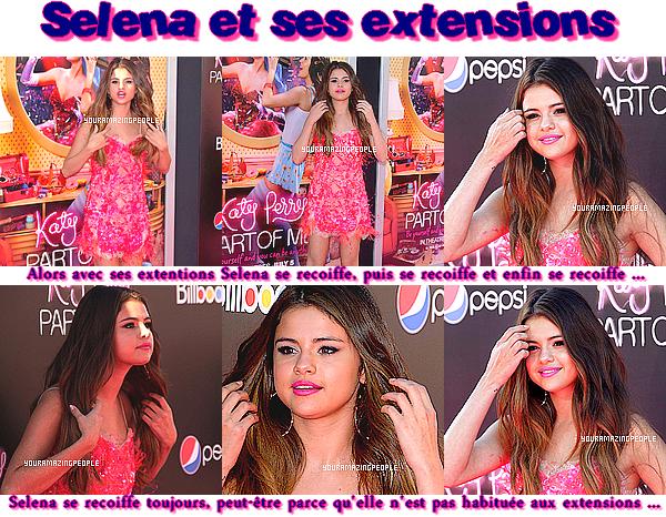 Article Divers : Selena et les extensions + Nail Art des Stars