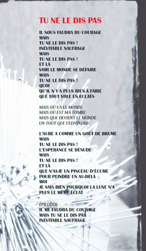Monkey Me / Tu Ne Le Dis Pas (2012)